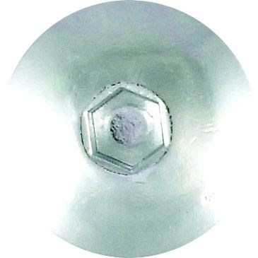 KEITI Voorruit schroevenset Zilver