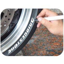 KEITI Marqueur a pneu  Blanc