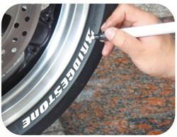 KEITI : Marqueur a pneu  - Blanc