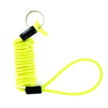 RAD Memory cable disc lock Jaune fluo