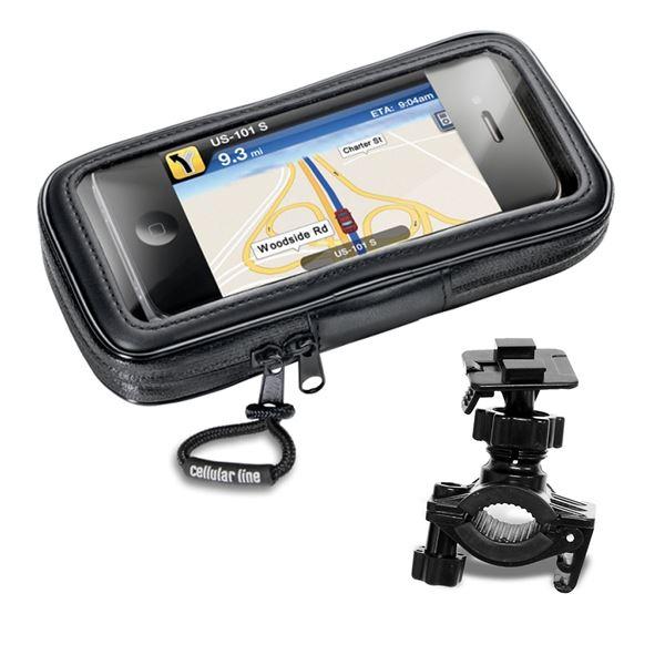 """INTERPHONE Porteur smartphone 4,3"""" moto"""