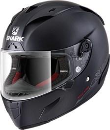 SHARK RACE-R Pro Blank Mat zwart KMA