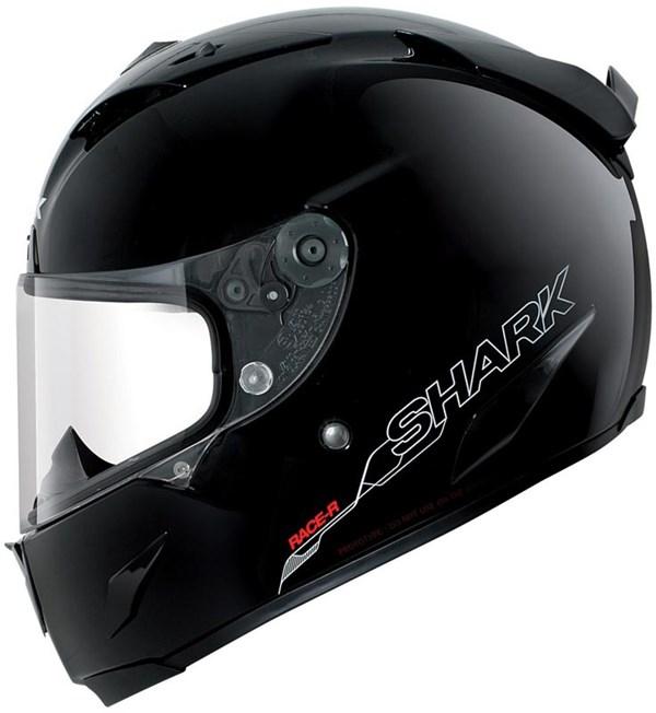 SHARK RACE-R Pro Blank Zwart BLK