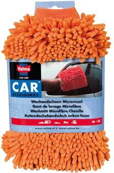 VALMA Washandschoen 'microvezel' grof