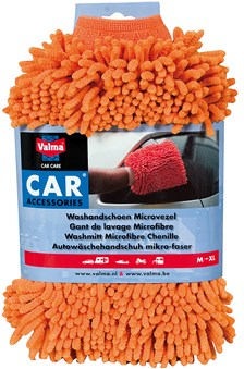 VALMA Gant de lavage 'microfibres'
