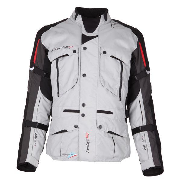 MODEKA Ventura GT Jacket Licht grijs-Zwart