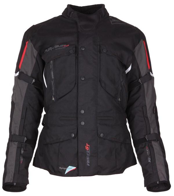 MODEKA Ventura GT Jacket Zwart-Grijs
