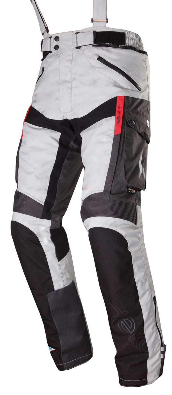 MODEKA Ventura GT Pants Gris clair-Noir Hommes