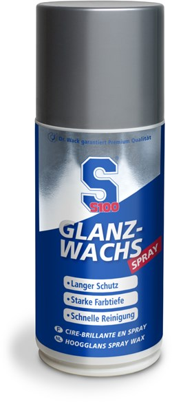 S100 : Spray cire brillant - 250 ml