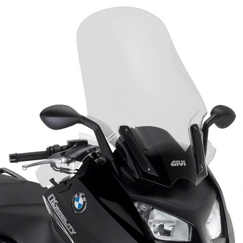 GIVI Verhoogd transparant windscherm - ST D5105ST