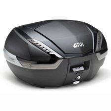 GIVI V47 top case reflecteurs fumés, finition carbon