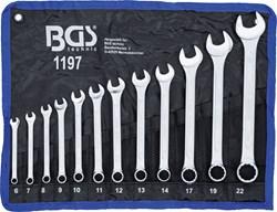 BGS TECHNIC Jeu de clés mixtes 6 - 22 mm