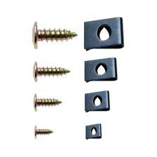 BGS TECHNIC Assortiment clips et vis 170 pièces