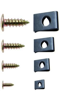 BGS TECHNIC Assortiment clips et vis