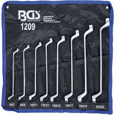 BGS TECHNIC Ringsleutelset 6x7 - 19x22mm