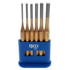 BGS TECHNIC Jeu de chasse-goupilles 150 mm