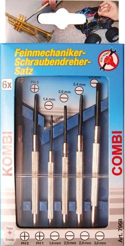 BGS TECHNIC Jeu de tournevis de précision - 6 pieces