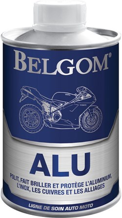 BELGOM : ALU polish aluminium - 250ml