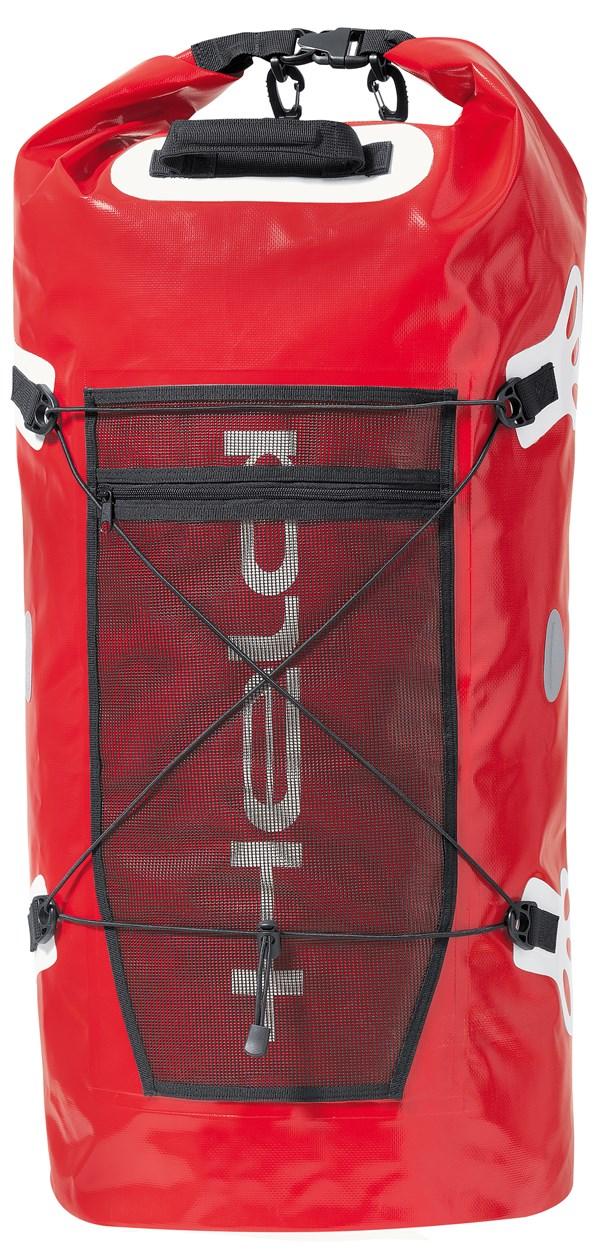 HELD Roll-Bag - 90l Rood-Wit