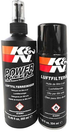 K&N Onderhoud uitwasbare luchtfilter Kit