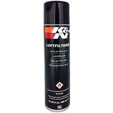 K&N Onderhoud uitwasbare luchtfilter Luchtfilterolie