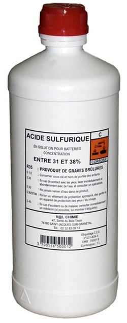 RAD : Acide - 1 litre