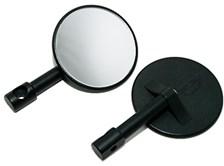 PAASCHBURG & WUNDERLICH Rétroviseurs d'embout de guidon Ø 8 cm (par paire)