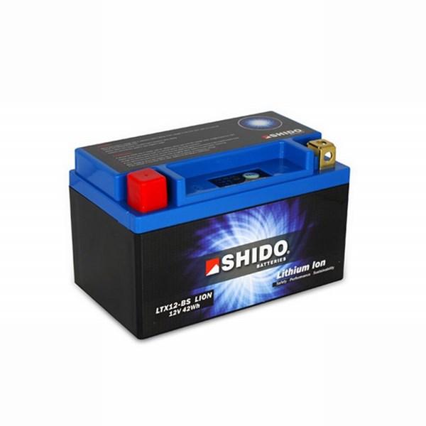 SHIDO Batterie Lithium-Ion LTX12-BS