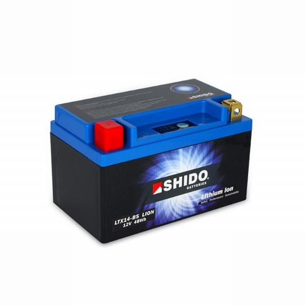 SHIDO Lithium-Ion batterij LTX14-BS