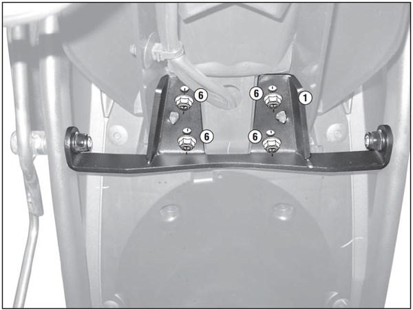 GIVI 'Zonder topkofferhouder' kit PLR/PLX(R) 2110KIT