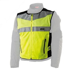 GIVI : High visibility boven jas - Fluo geel