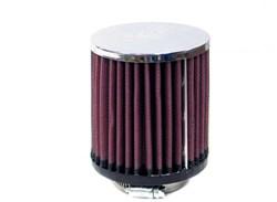 K&N : Filtre à air universel chromé - RC-0500