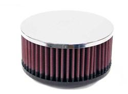 K&N : Filtre à air universel chromé - RC-0650