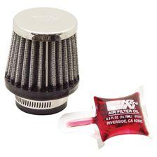 K&N Filtre à air universel chromé RC-0790