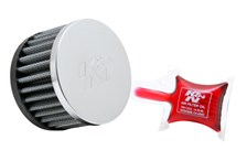 K&N Luchtfilter universeel verchroomd RC-0840