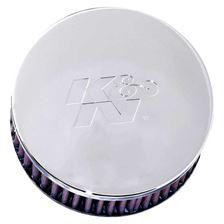 K&N Filtre à air universel chromé RC-0850