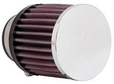 K&N Luchtfilter universeel verchroomd RC-0890