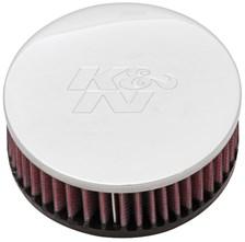 K&N Luchtfilter universeel verchroomd RC-0920