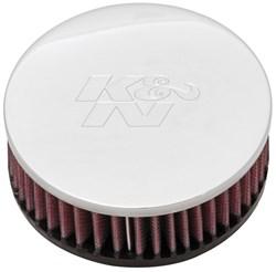 K&N : Filtre à air universel chromé - RC-0920