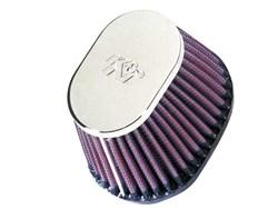 K&N : Filtre à air universel chromé - RC-0981