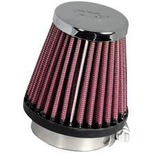 K&N Luchtfilter universeel verchroomd RC-1060