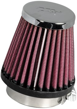 K&N : Filtre à air universel chromé - RC-1060