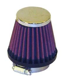 K&N Luchtfilter universeel verchroomd RC-1070