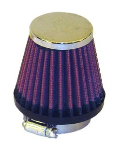 K&N : Luchtfilter universeel verchroomd - RC-1070