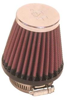 K&N Luchtfilter universeel verchroomd RC-1090