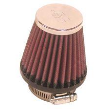 K&N Filtre à air universel chromé RC-1090