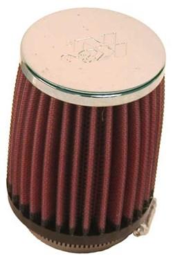 K&N : Luchtfilter universeel verchroomd - RC-1350