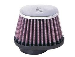 K&N : Luchtfilter universeel verchroomd - RC-1820