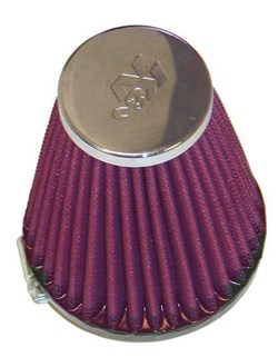 K&N : Filtre à air universel chromé - RC-1920
