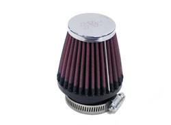 K&N : Luchtfilter universeel verchroomd - RC-2320